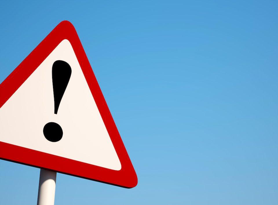 6 mistakes job candidates make warning sign